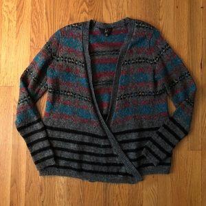 Jack by BB Dakota Striped Cardigan Sweater